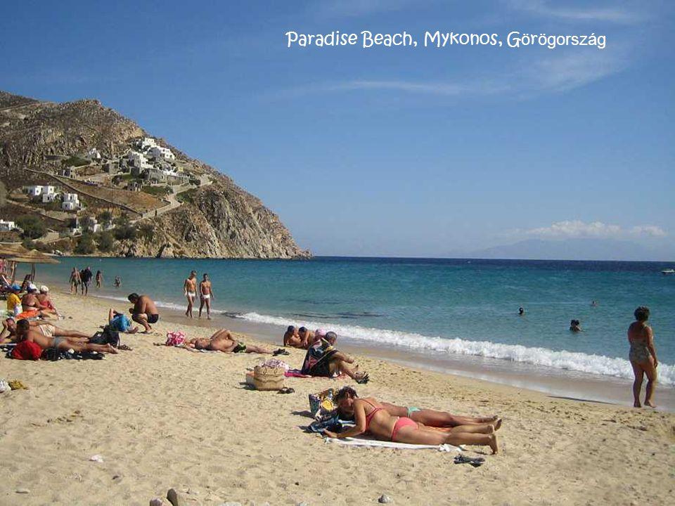 Paradise Beach, Mykonos, Görögország