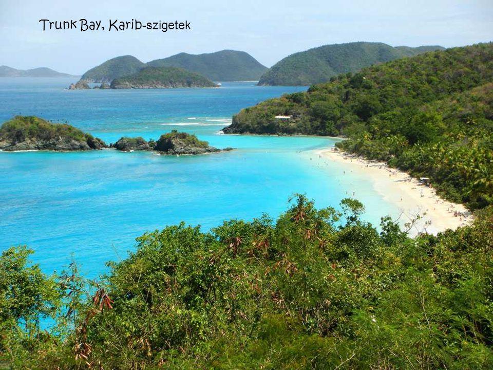 Trunk Bay, Karib-szigetek