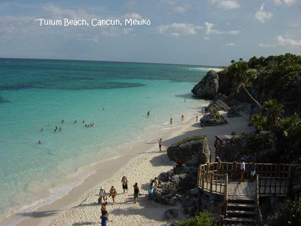 Tulum Beach, Cancun, Mexikó