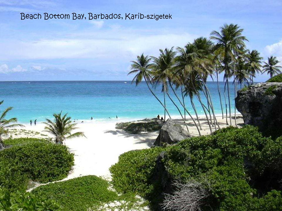 Beach Bottom Bay, Barbados, Karib-szigetek