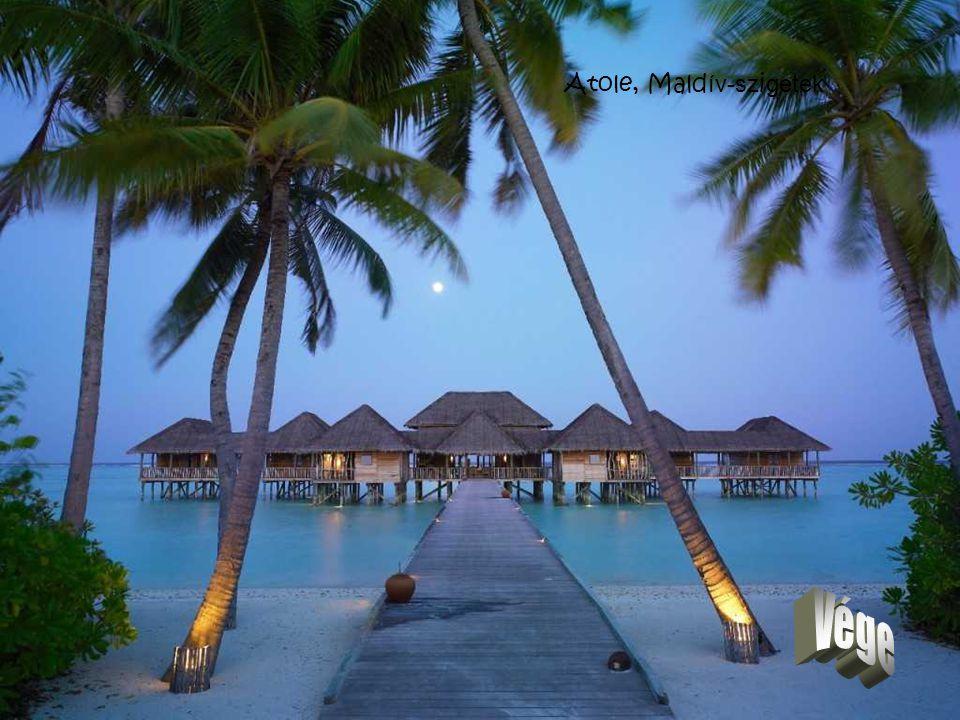 Atole, Maldív-szigetek