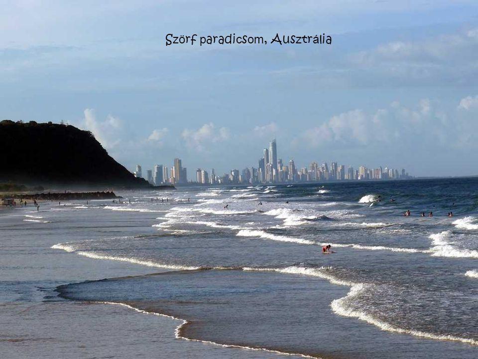 Szörf paradicsom, Ausztrália