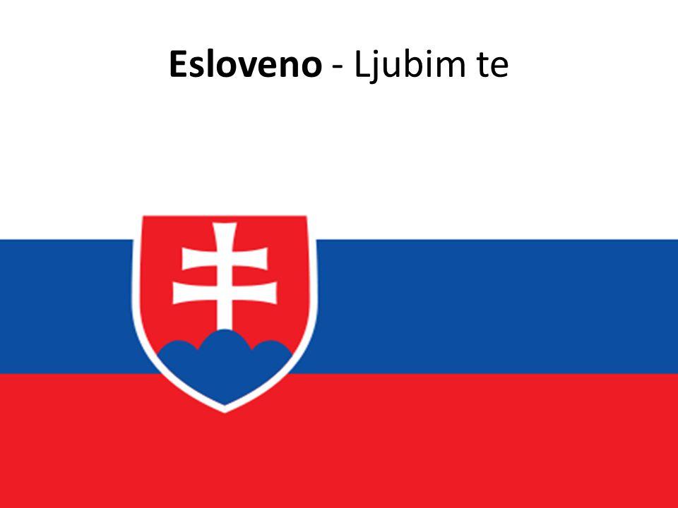 Esloveno - Ljubim te
