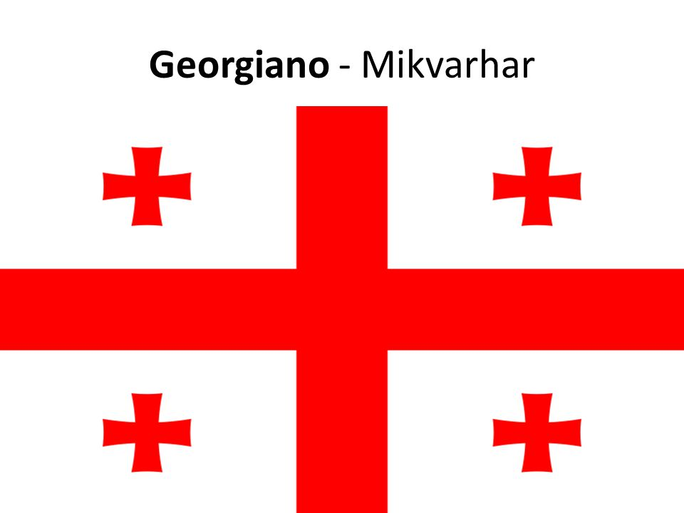 Georgiano - Mikvarhar