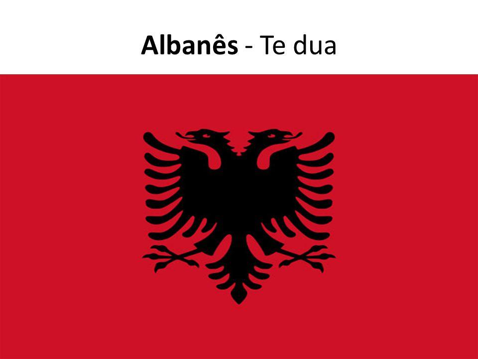 Albanês - Te dua