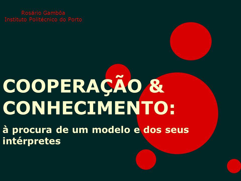 Rosário Gambôa Instituto Politécnico do Porto