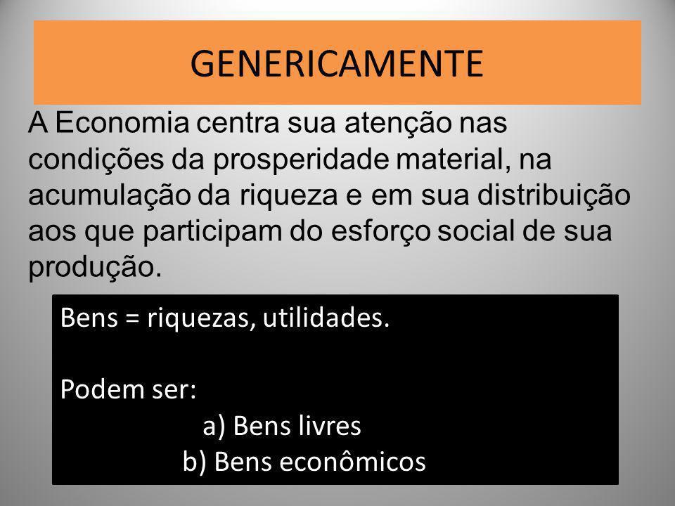 GENERICAMENTE
