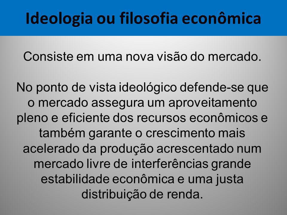 Ideologia ou filosofia econômica