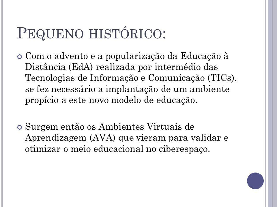 Pequeno histórico: