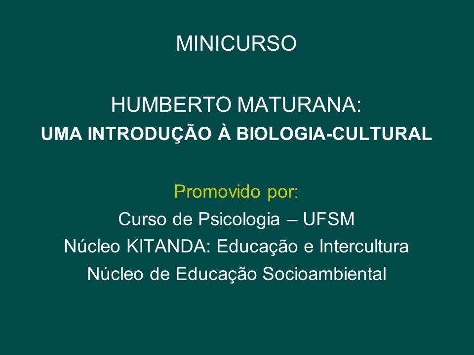 UMA INTRODUÇÃO À BIOLOGIA-CULTURAL