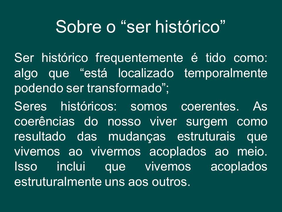 Sobre o ser histórico