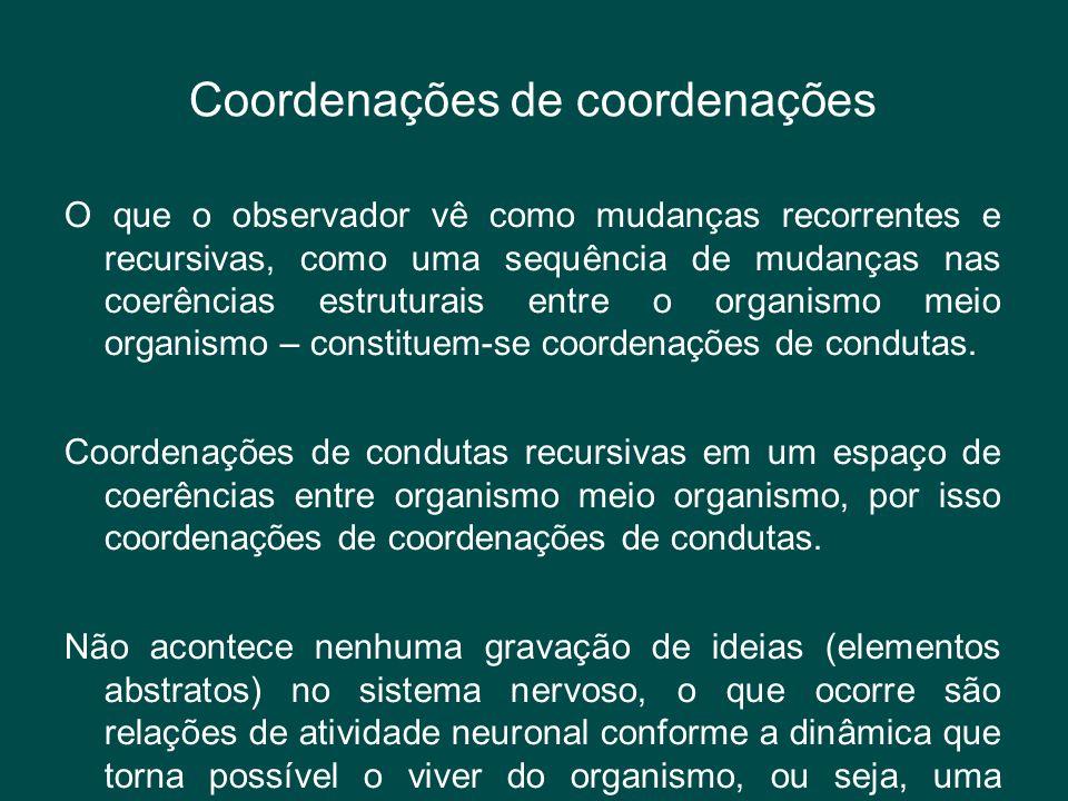 Coordenações de coordenações