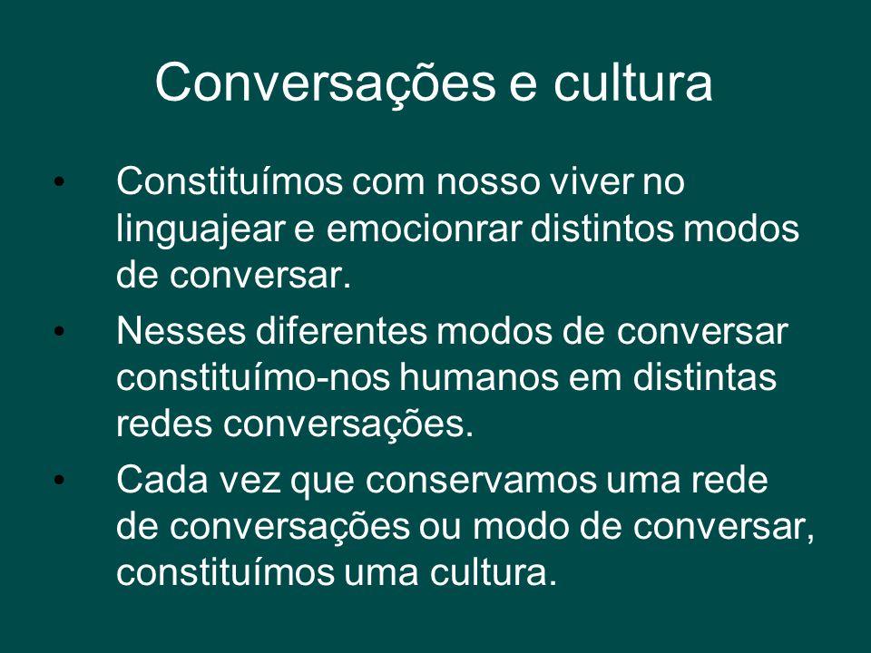 Conversações e cultura