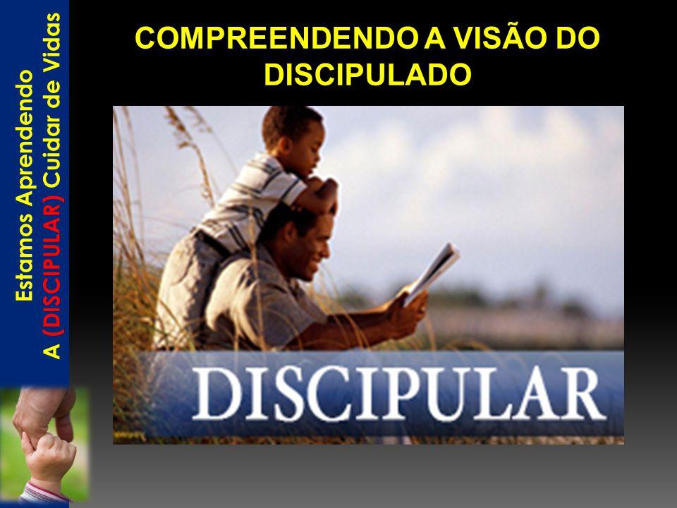 COMPREENDENDO A VISÃO DO DISCIPULADO A (DISCIPULAR) Cuidar de Vidas