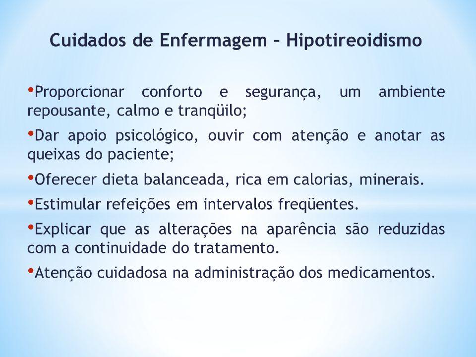 Cuidados de Enfermagem – Hipotireoidismo