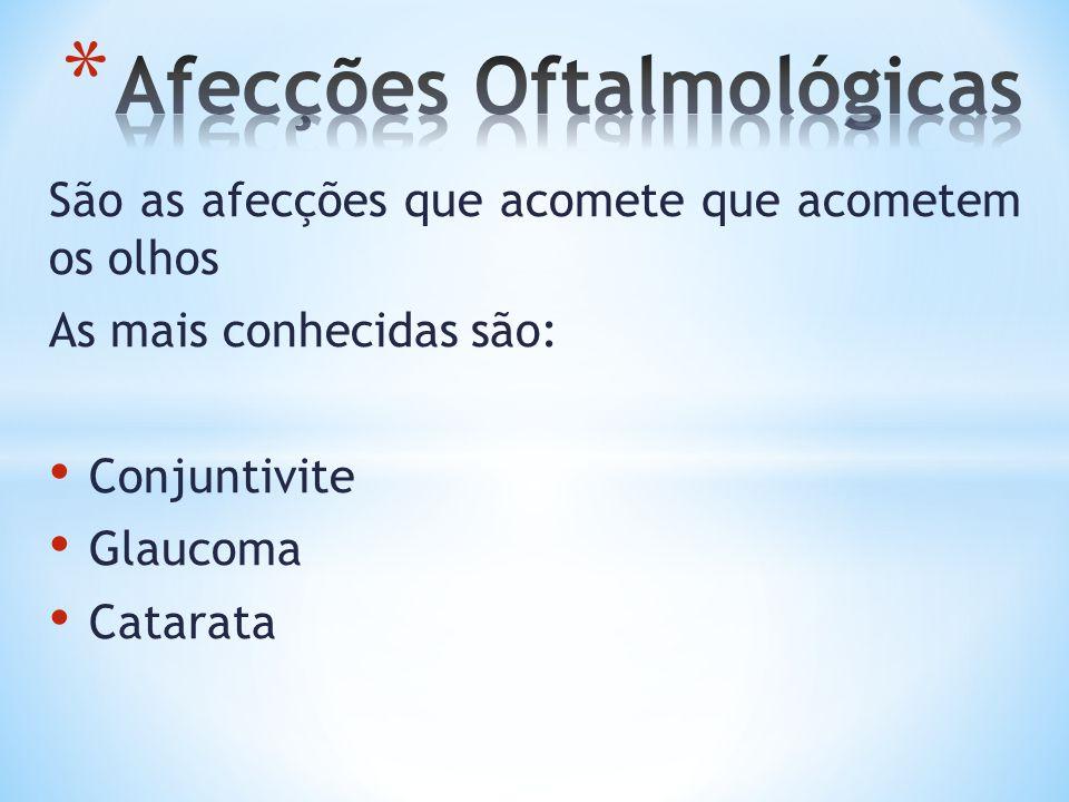 Afecções Oftalmológicas