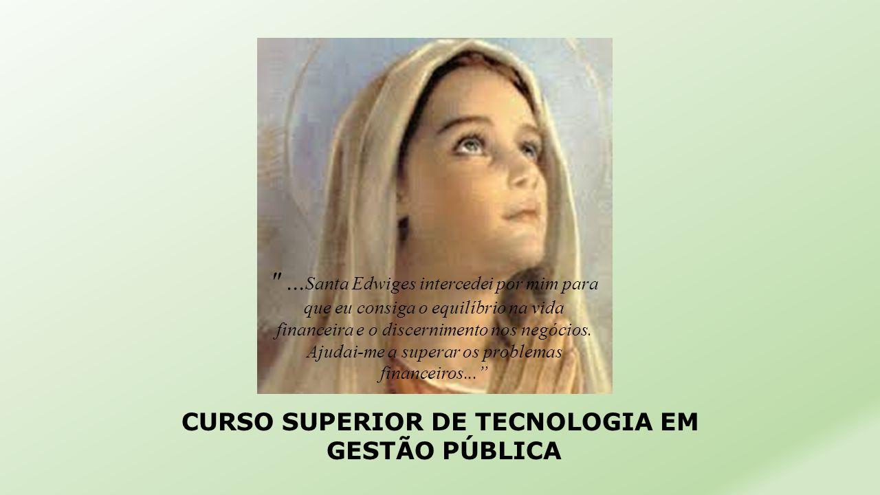 CURSO SUPERIOR DE TECNOLOGIA EM