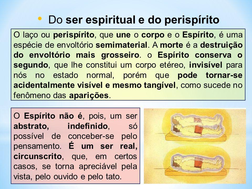 Do ser espiritual e do perispírito