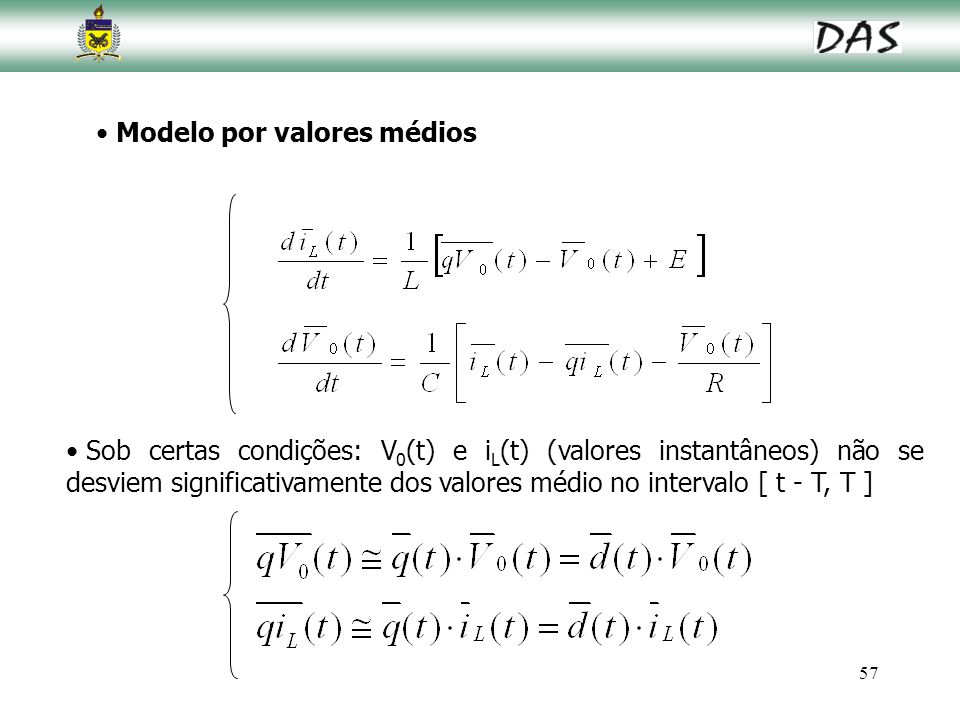 Modelo por valores médios
