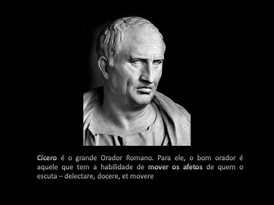 Cícero é o grande Orador Romano