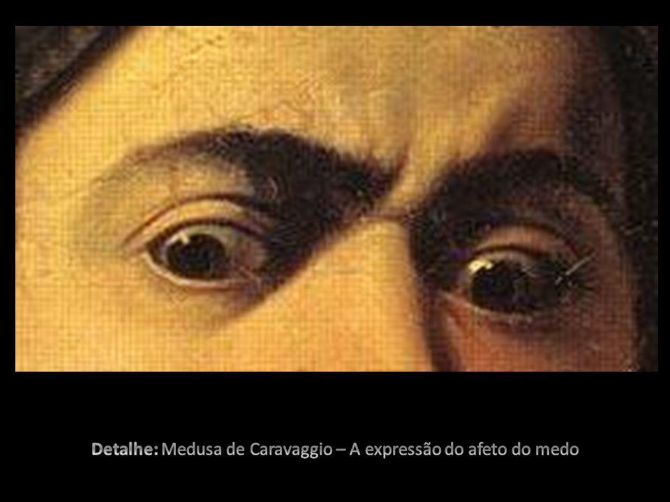 Detalhe: Medusa de Caravaggio – A expressão do afeto do medo