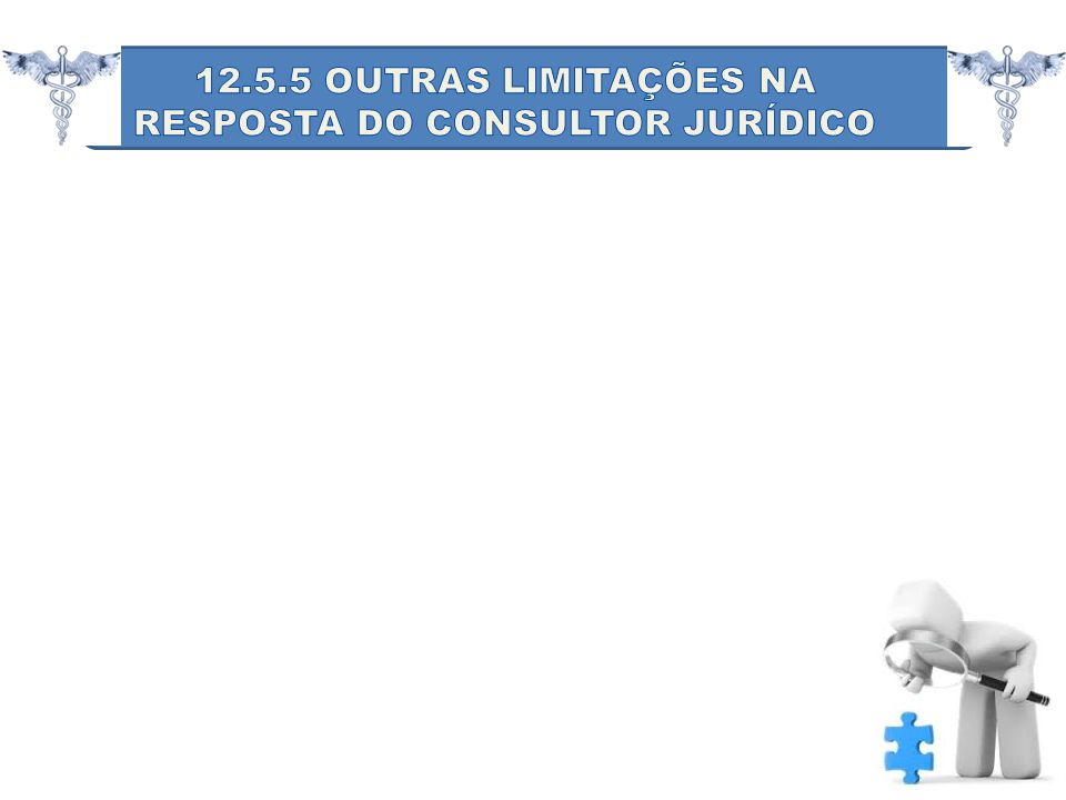 RESPOSTA DO CONSULTOR JURÍDICO