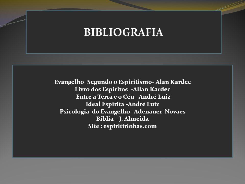 BIBLIOGRAFIA Evangelho Segundo o Espiritismo- Alan Kardec