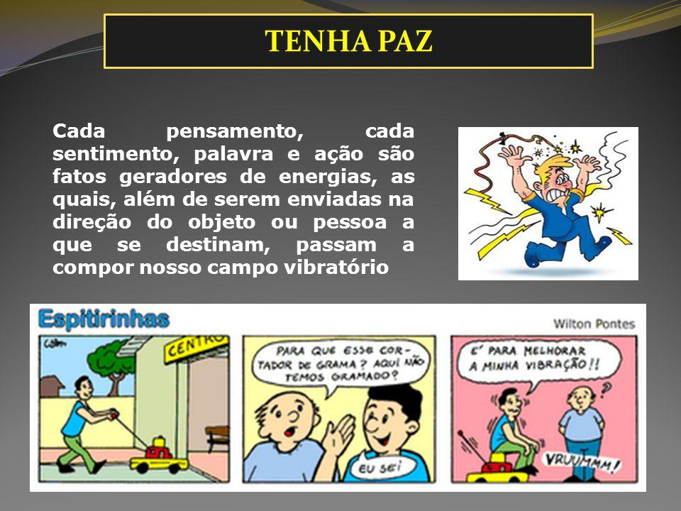 TENHA PAZ