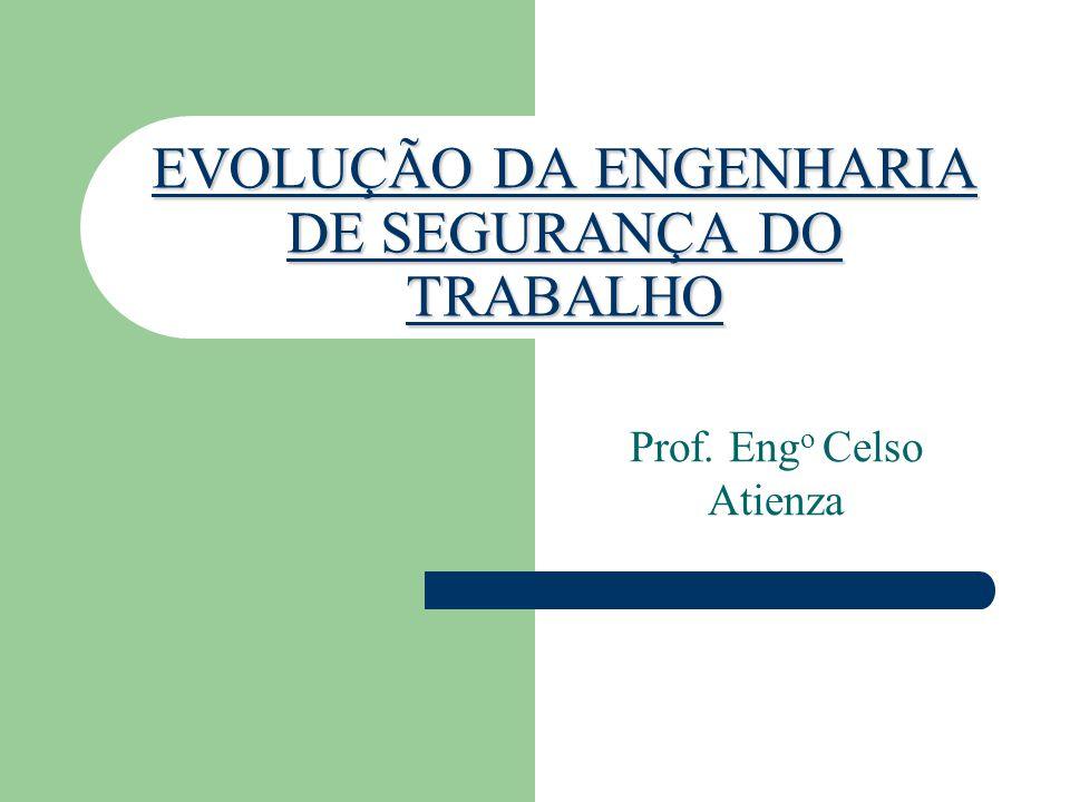 EVOLUÇÃO DA ENGENHARIA DE SEGURANÇA DO TRABALHO