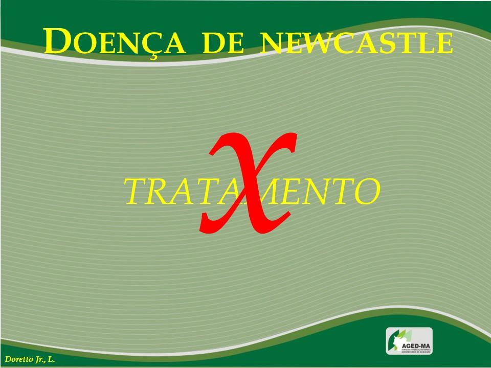 DOENÇA DE NEWCASTLE x TRATAMENTO Doretto Jr., L.