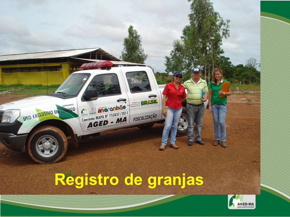 Registro de granjas