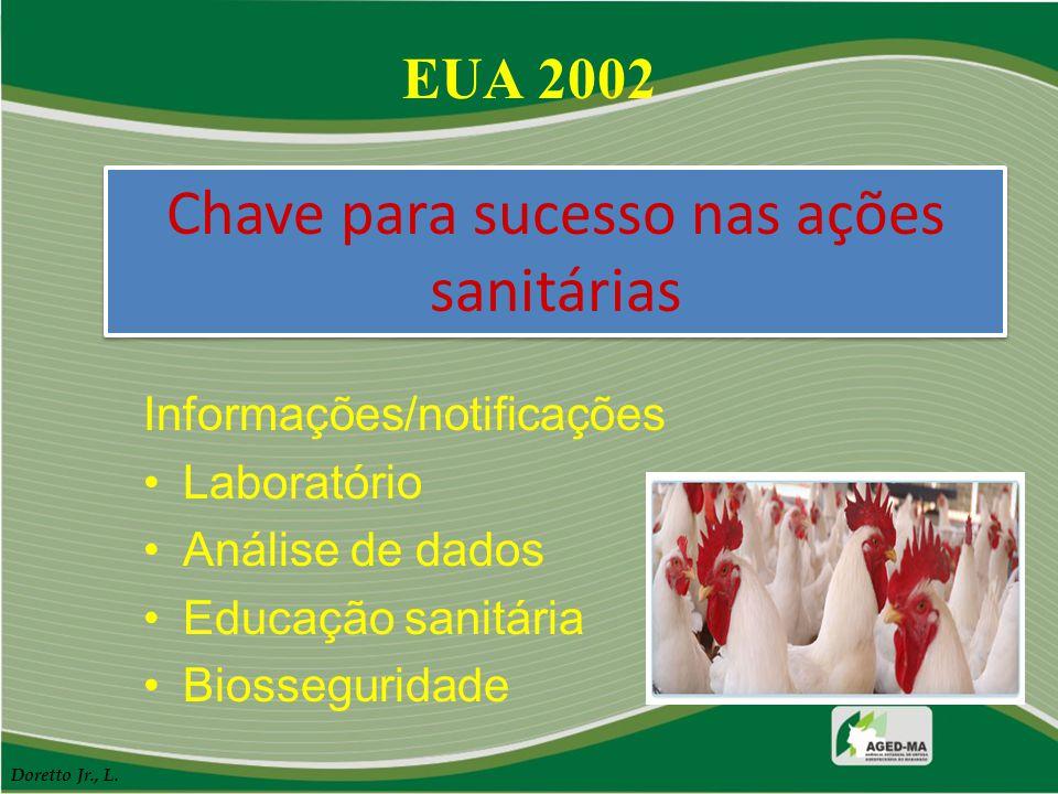 Chave para sucesso nas ações sanitárias