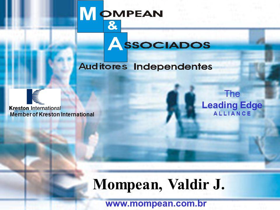 Mompean, Valdir J. The Leading Edge www.mompean.com.br A L L I A N C E