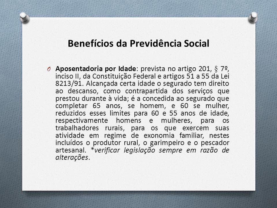 Benefícios da Previdência Social