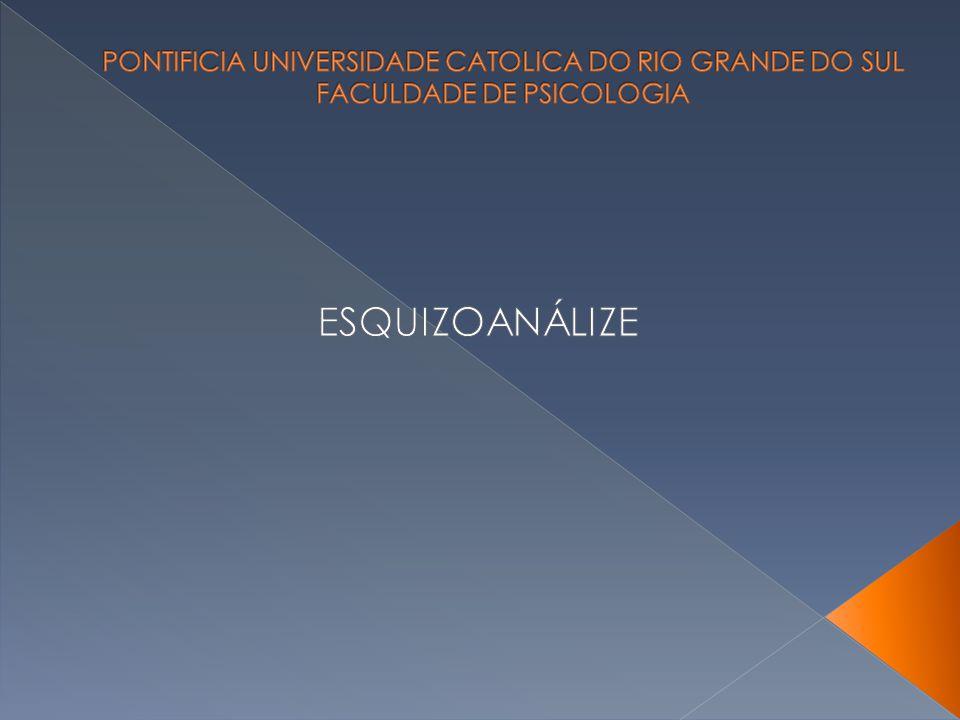 PONTIFICIA UNIVERSIDADE CATOLICA DO RIO GRANDE DO SUL FACULDADE DE PSICOLOGIA