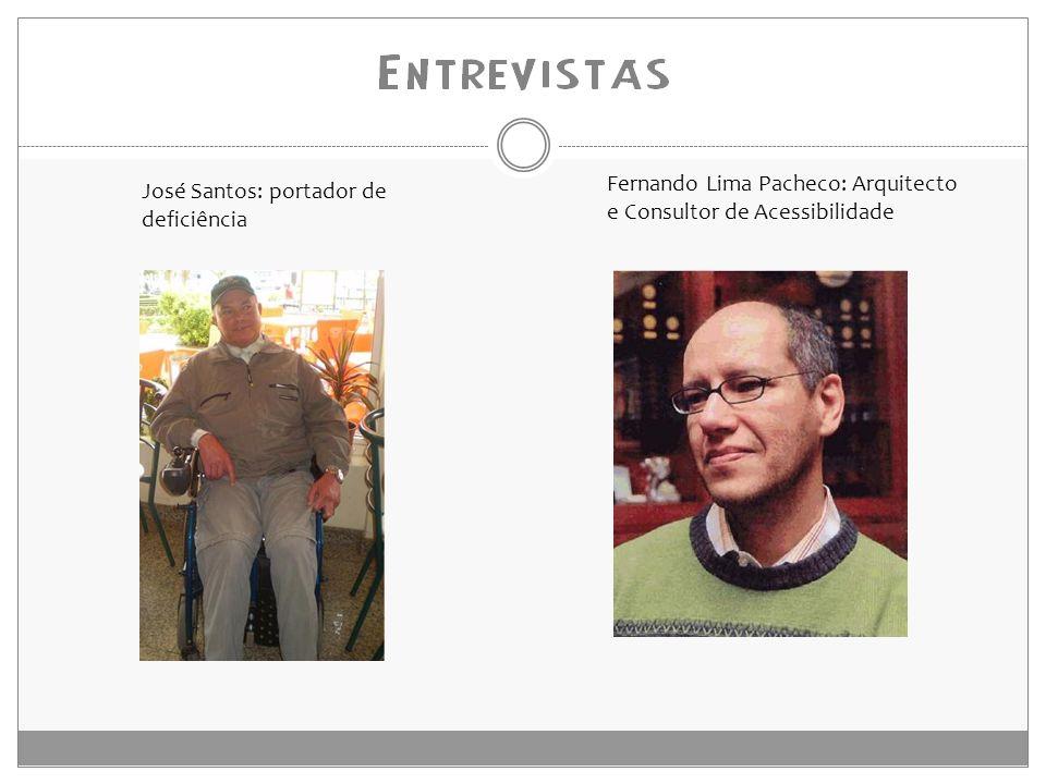 Fernando Lima Pacheco: Arquitecto e Consultor de Acessibilidade