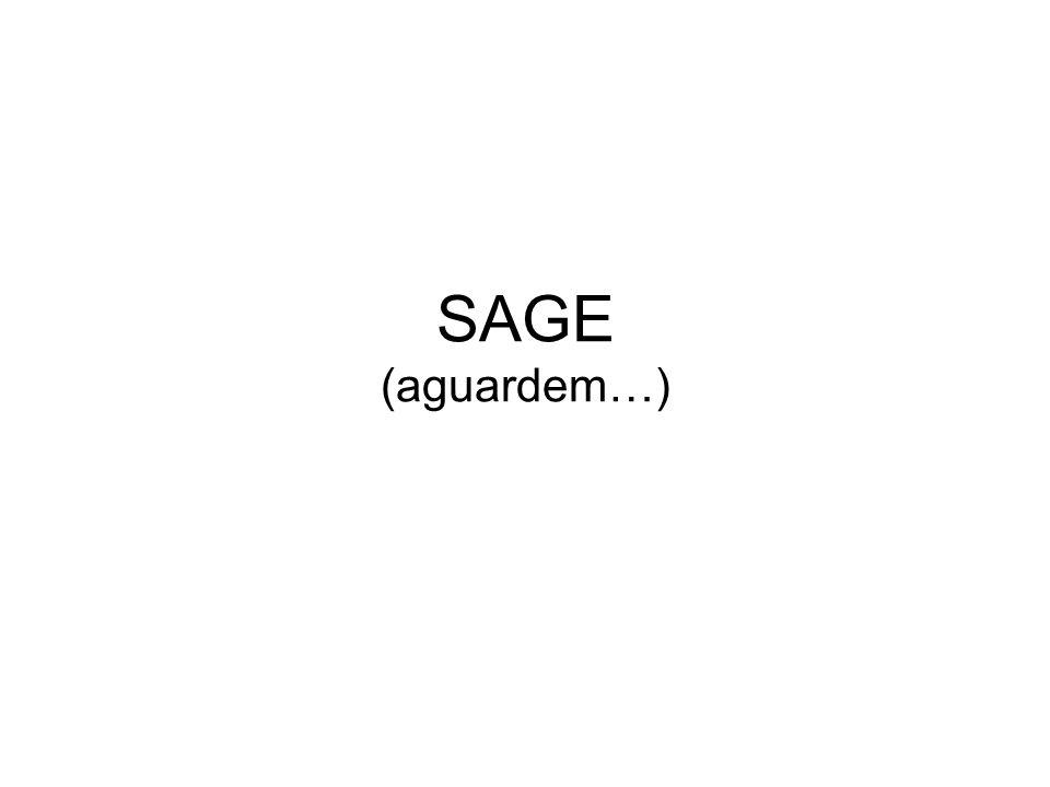 SAGE (aguardem…)