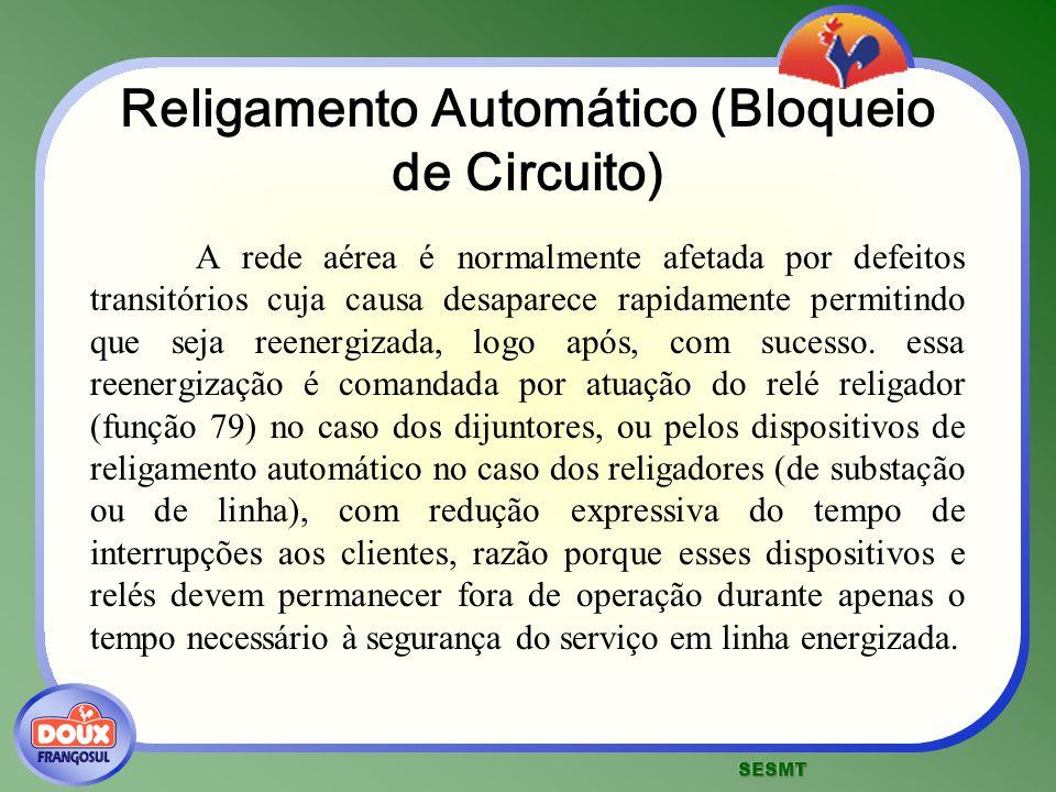 Religamento Automático (Bloqueio de Circuito)
