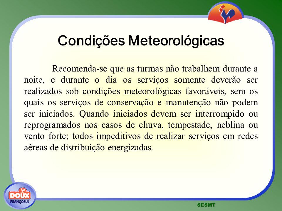 Condições Meteorológicas