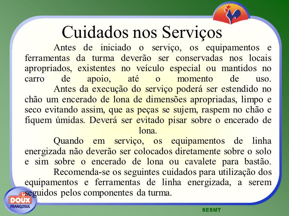 Cuidados nos Serviços