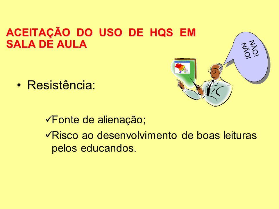 ACEITAÇÃO DO USO DE HQS EM SALA DE AULA