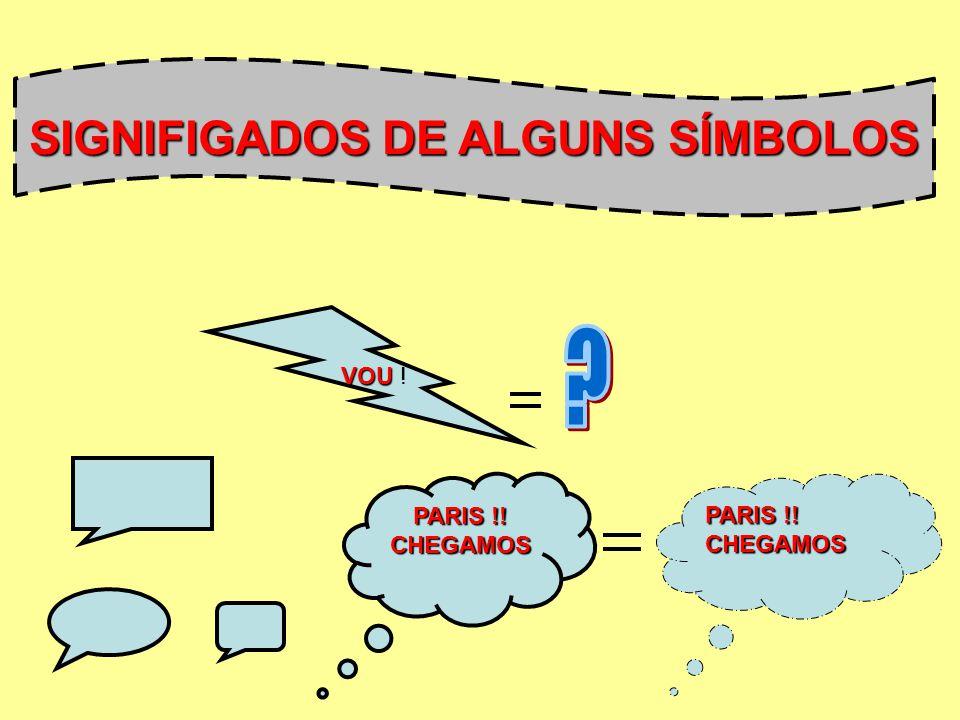 SIGNIFIGADOS DE ALGUNS SÍMBOLOS