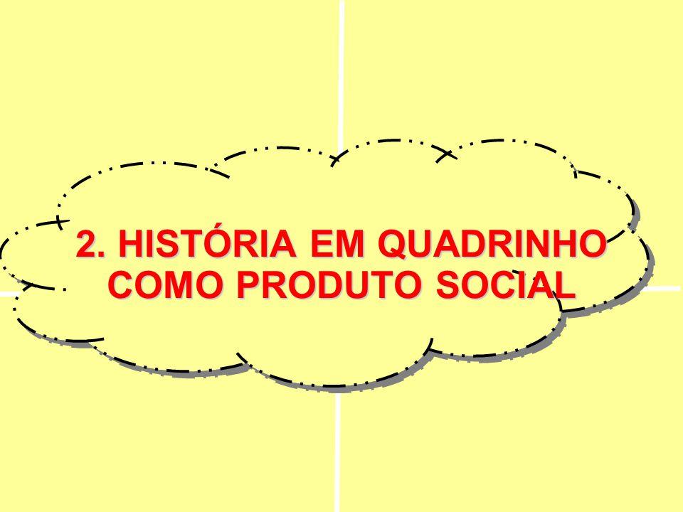 2. HISTÓRIA EM QUADRINHO COMO PRODUTO SOCIAL