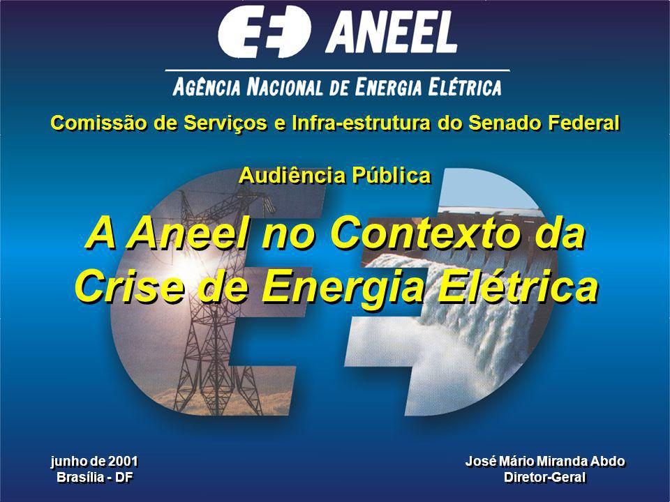 A Aneel no Contexto da Crise de Energia Elétrica