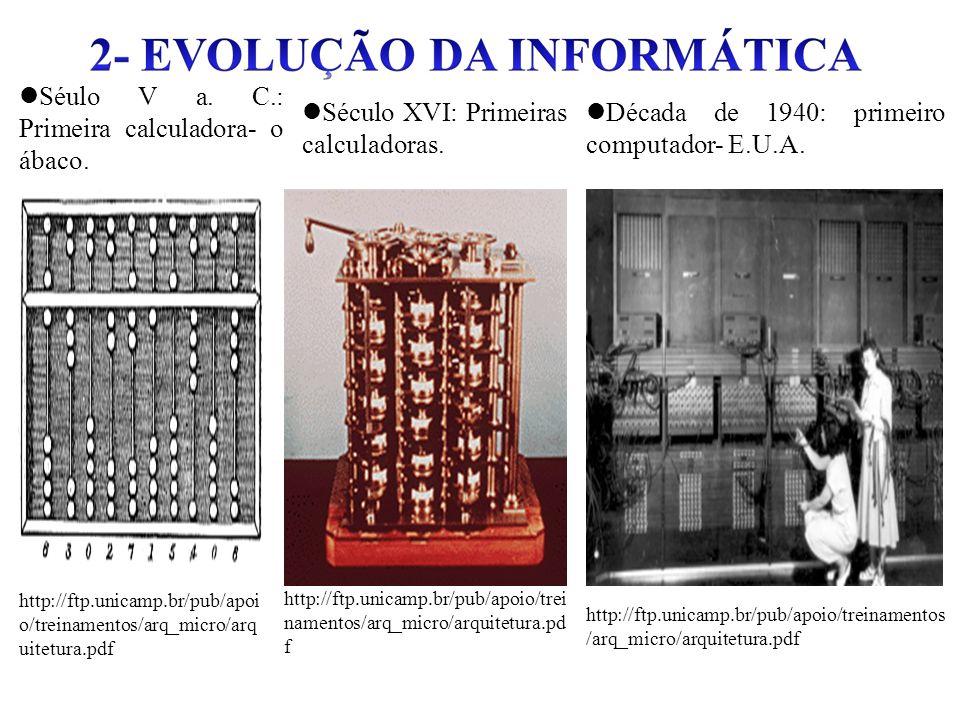 Séulo V a. C.: Primeira calculadora- o ábaco.