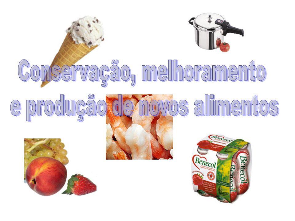 Conservação, melhoramento e produção de novos alimentos