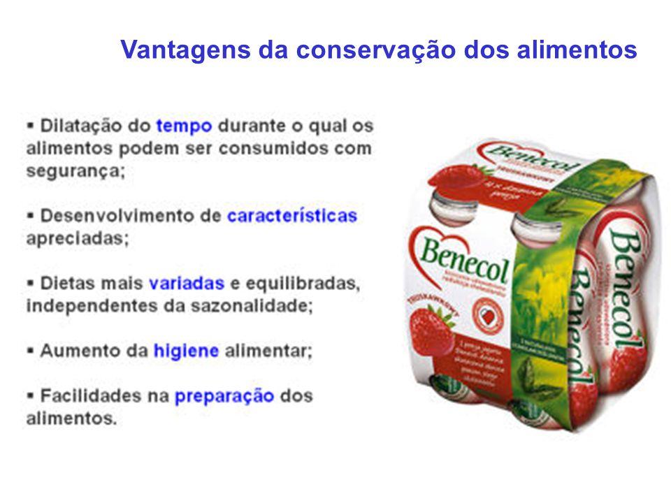 Vantagens da conservação dos alimentos