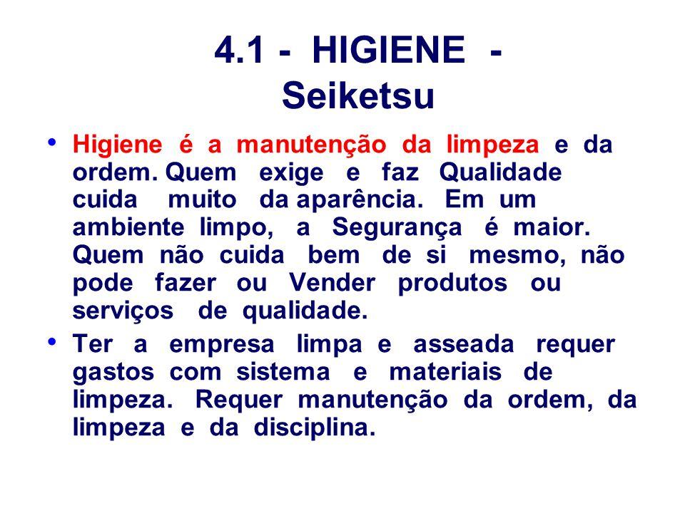 4.1 - HIGIENE - Seiketsu