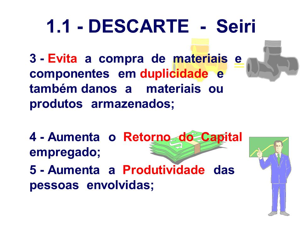 1.1 - DESCARTE - Seiri