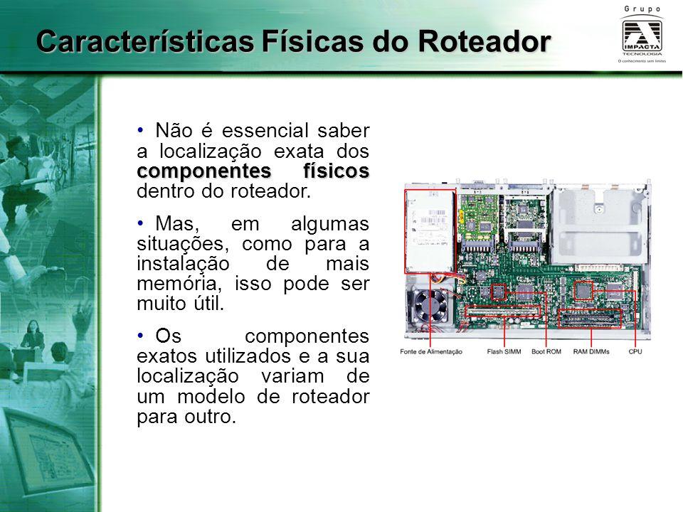 Características Físicas do Roteador